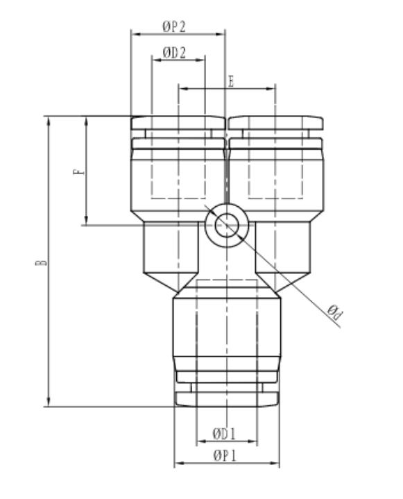 Desenho técnico TPYW